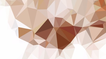 Brown and White Low Poly Background Image