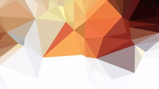 Abstract Brown and White Polygon Triangle Background Vector Illustration