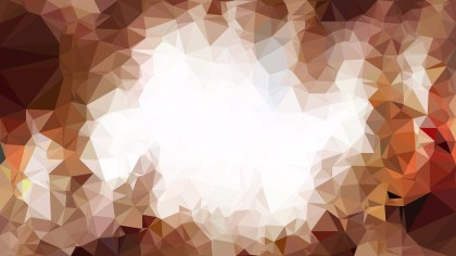 Brown and White Polygon Background Graphic Design