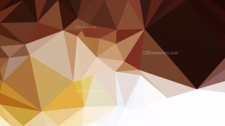 Abstract Brown and White Polygon Background Graphic Design Vector Image