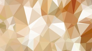 Abstract Brown and White Polygonal Background
