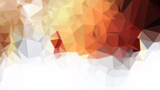 Brown and White Polygon Background Template