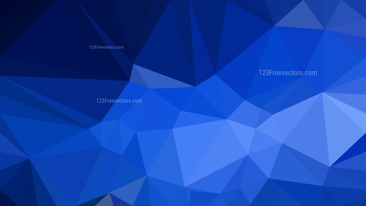 cobalt blue abstract low poly background design