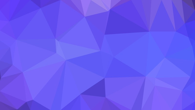 Abstract Cobalt Blue Polygon Background