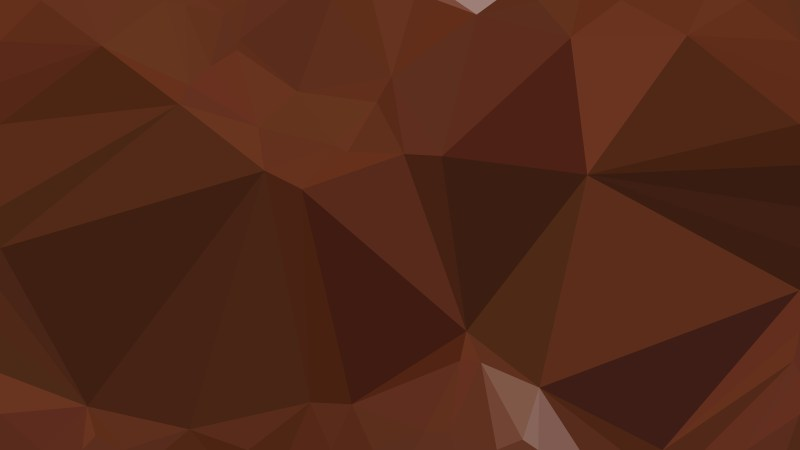 Coffee Brown Polygonal Background Design Image