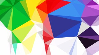 Colorful Low Poly Background Illustration