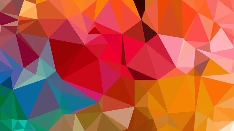 Colorful Polygonal Background Image