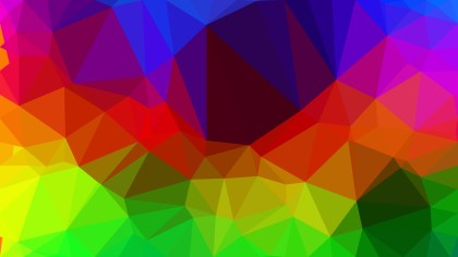 Abstract Colorful Polygonal Background Image