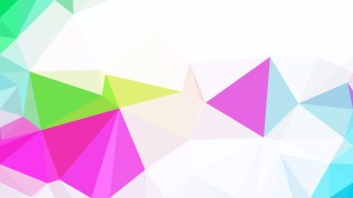 Colorful Polygonal Triangular Background