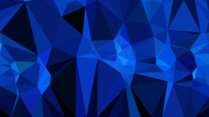 Cool Blue Polygon Abstract Background Vector Graphic