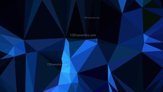 Abstract Cool Blue Polygonal Background