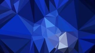 Cool Blue Polygonal Triangular Background Vector Illustration