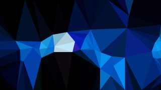 Cool Blue Polygonal Background Design Image