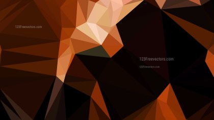 Cool Brown Polygon Background Design