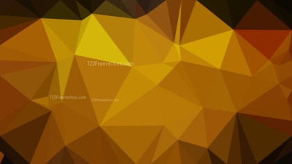 Cool Gold Geometric Polygon Background Graphic