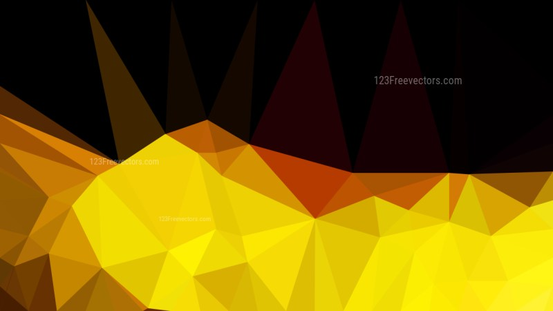 Cool Gold Polygonal Background Vector Image