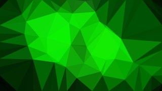 Cool Green Polygon Triangle Pattern Background
