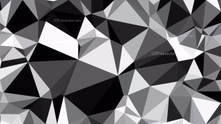 Cool Grey Polygon Background Design