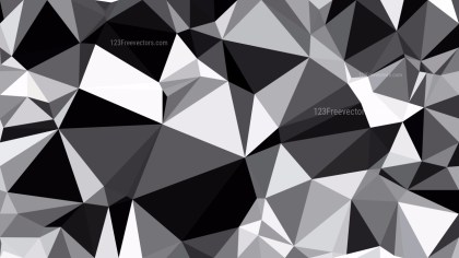 Cool Grey Polygon Background Design