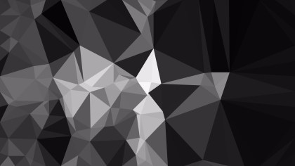 Abstract Cool Grey Polygon Background Design Vector