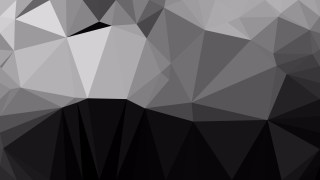 Abstract Cool Grey Polygonal Background Design Vector Illustration