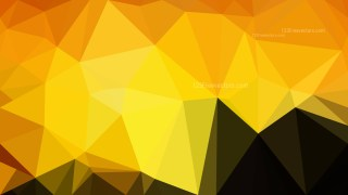Cool Orange Polygon Pattern Abstract Background