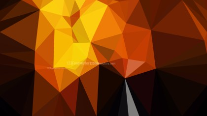 Abstract Cool Orange Polygon Background Graphic Design