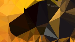 Cool Orange Polygon Background Template