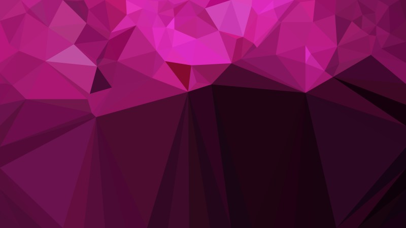 Abstract Cool Pink Polygonal Background