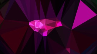 Abstract Cool Pink Polygonal Triangular Background Vector Art