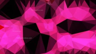 Cool Pink Polygonal Background Design