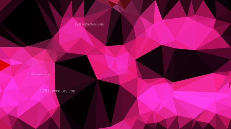 Cool Pink Polygonal Background Design