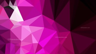Cool Pink Polygonal Abstract Background Vector Art
