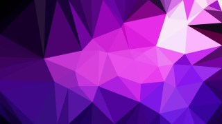 Cool Purple Polygonal Background Design Image