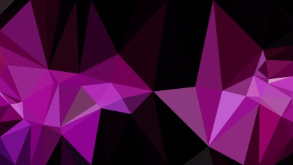 Cool Purple Polygonal Abstract Background Design Vector Art
