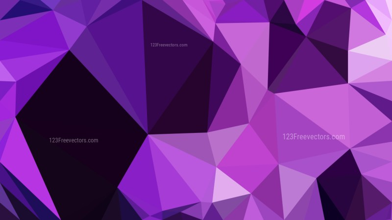 Cool Purple Polygon Pattern Abstract Background