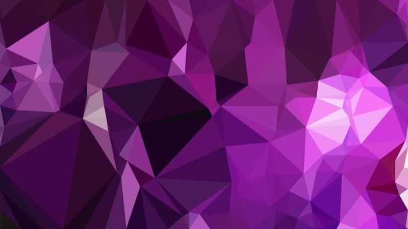 Cool Purple Polygon Triangle Pattern Background