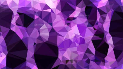 Cool Purple Polygon Pattern Abstract Background Vector Illustration