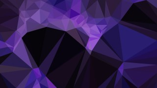Cool Purple Triangle Geometric Background Illustration