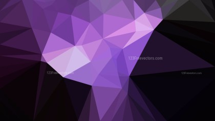 Abstract Cool Purple Polygonal Background