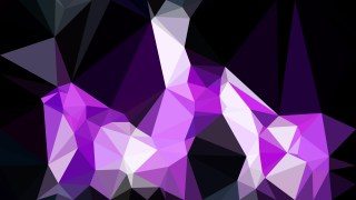 Abstract Cool Purple Polygon Triangle Background