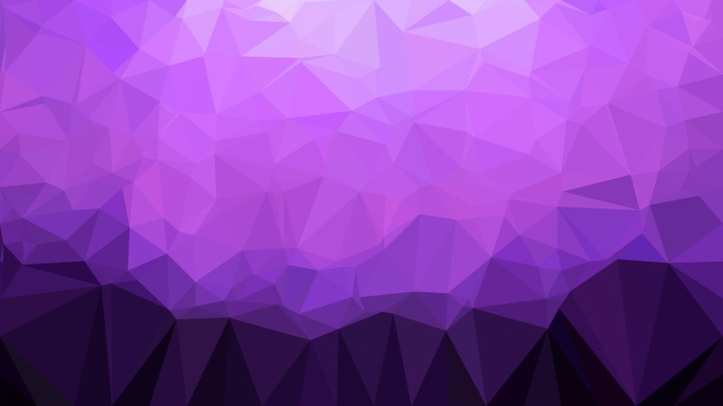 Abstract Cool Purple Polygonal Triangle Background