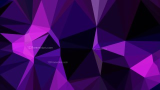 Abstract Cool Purple Polygonal Triangular Background Vector Art