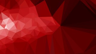 Cool Red Geometric Polygon Background Vector