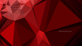 Cool Red Polygon Pattern Background