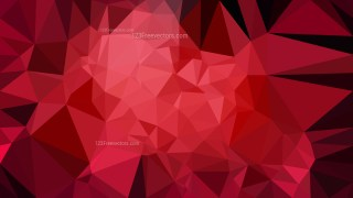Cool Red Polygon Background Template
