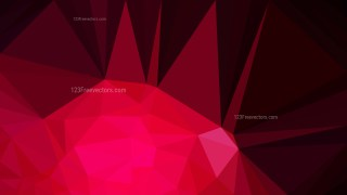 Cool Red Polygon Abstract Background Vector Graphic