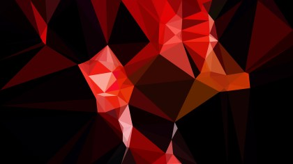 Cool Red Geometric Polygon Background
