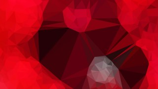 Cool Red Polygon Pattern Background Illustration