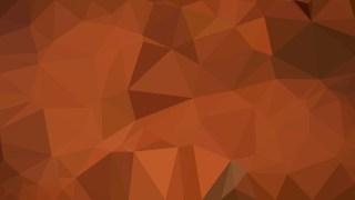 Copper Color Polygon Pattern Background Illustration